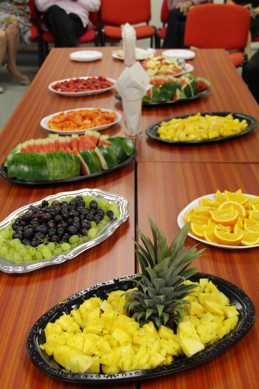 An array of fruits