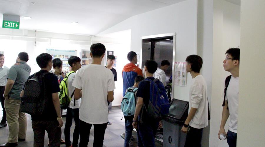 TMC Singapore Tour (Lift Lobby)
