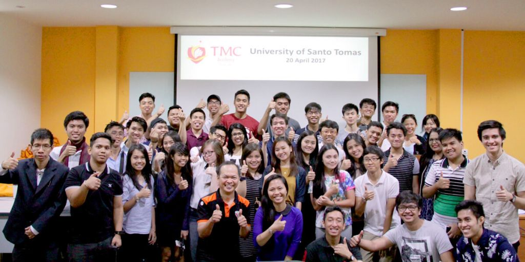 TMC Academy welcomes students from University of Santo Thomas