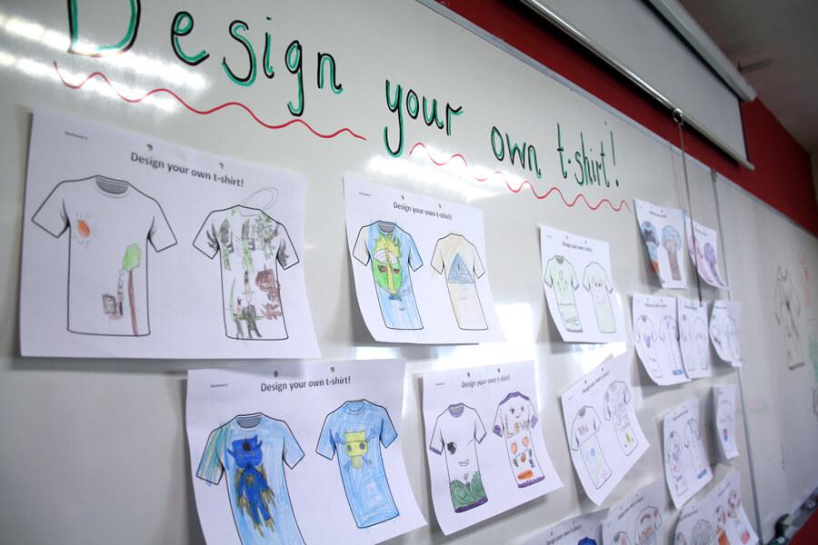 Design T-shirt - Thai Elementary Student Holiday English Program