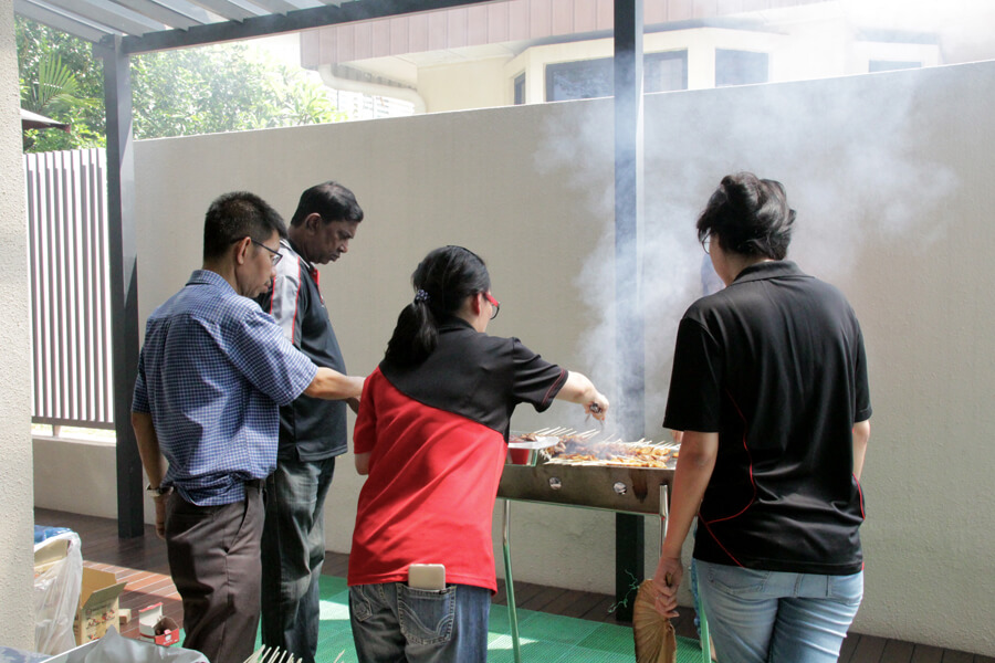 Lecture Preparing BBQ - June 2017 Orientation Day @ TMC Academy