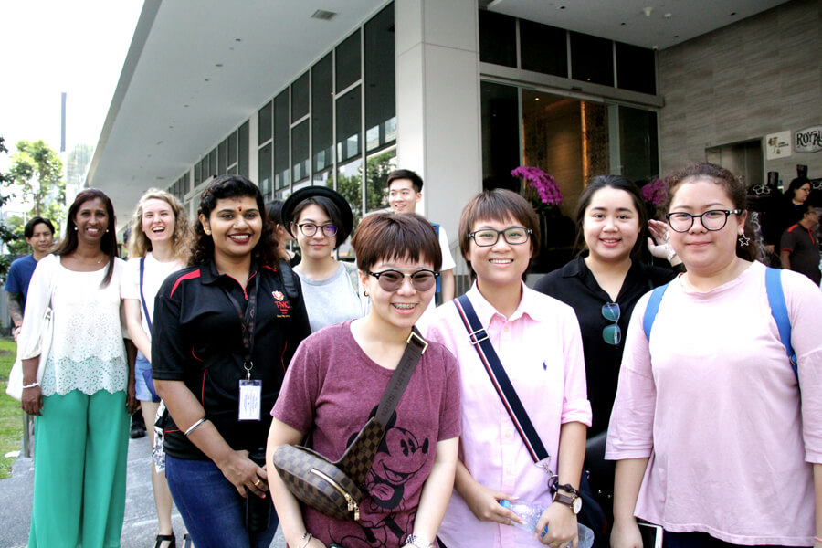 Student On The Way To Library - June 2017 Orientation Day @ TMC Academy