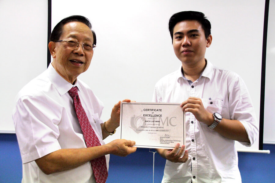 TMC Academy Bach Lap Minh Higher Diploma in Infocomm Technology