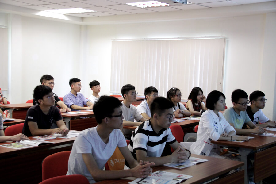Students Learning About Singapore - Chang Zhou Vocational Institute of Machatronic Technology visit TMC Academy