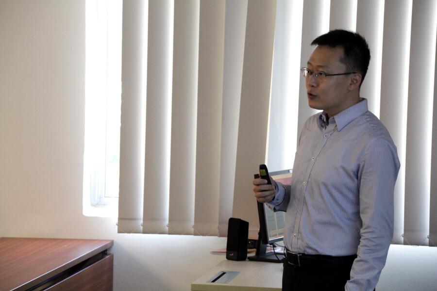 Zhang Qian - Chang Zhou Vocational Institute of Machatronic Technology visit TMC Academy