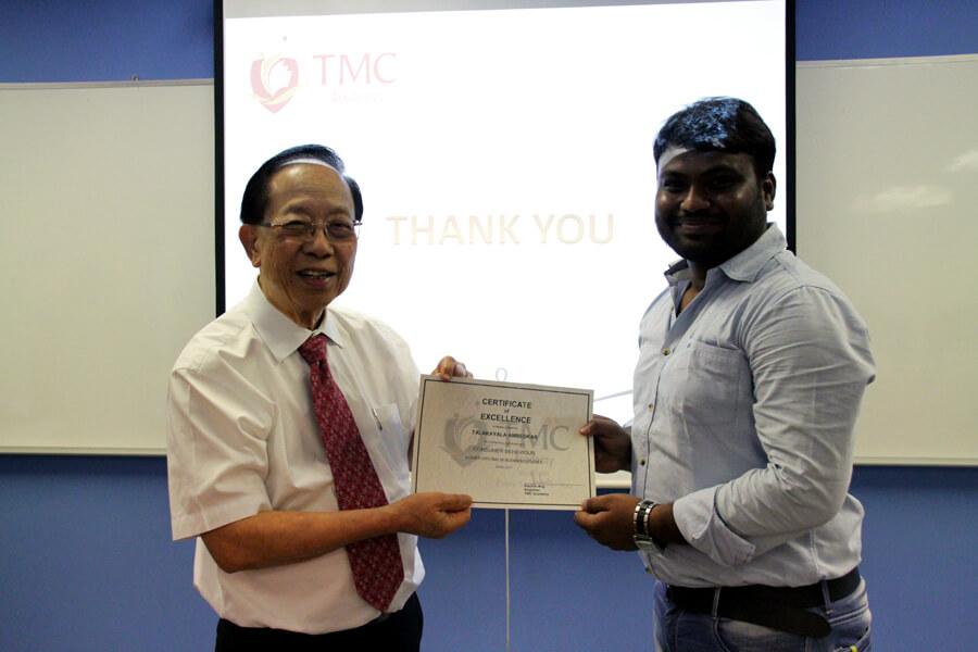 TMC Academy Talakayala Ambedkar Higher Diploma in Business Studies
