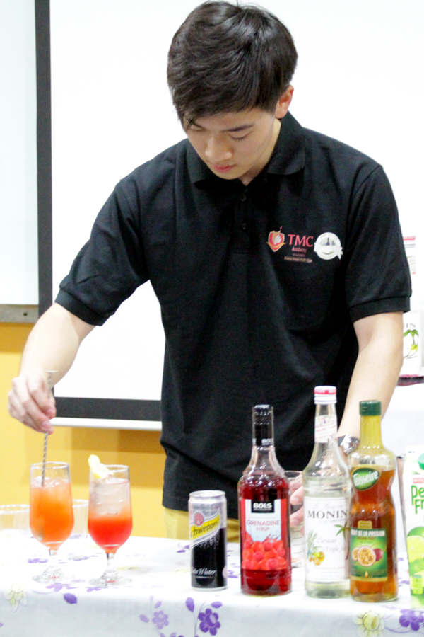 Erick @ TMC The Art Of Mixology Mocktail Competition