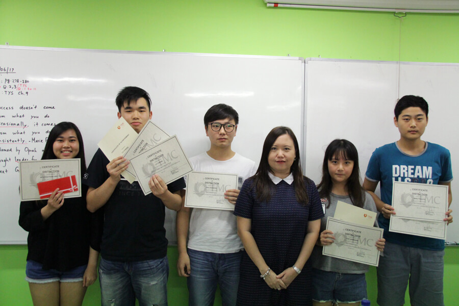 Group Pictures of Achieving Students - TMC College Preparatory Course for GCE 'O' Level Student Awards