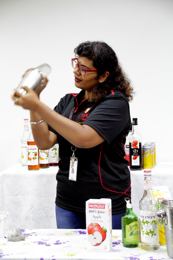 Lalethaa @ TMC The Art Of Mixology Mocktail Competition