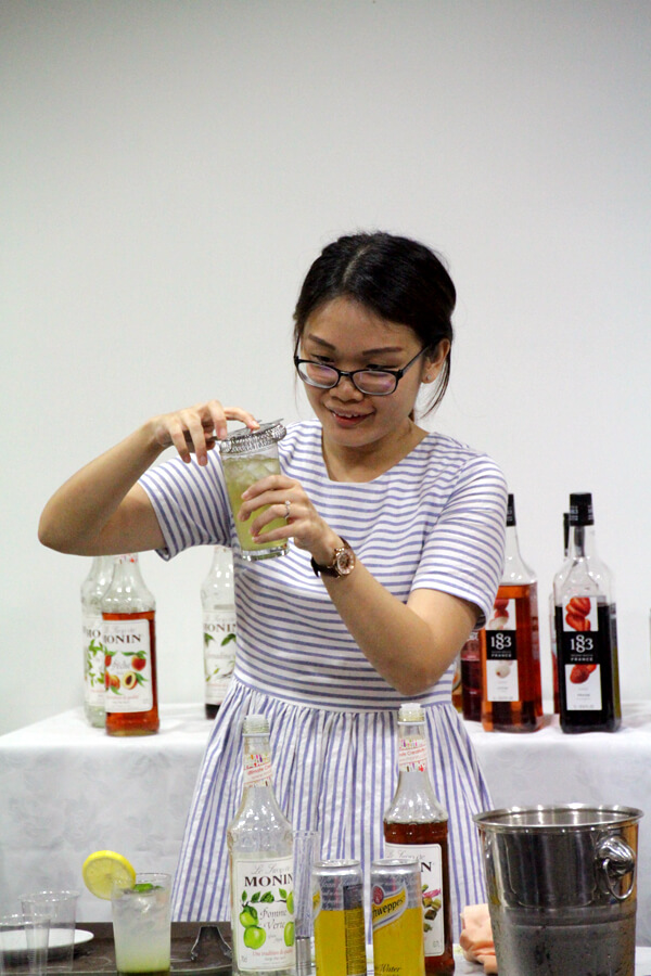 Li Yan @ TMC The Art Of Mixology Mocktail Competition