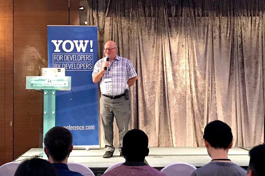 For Developers, By Developers @ Yow! Conference 2017
