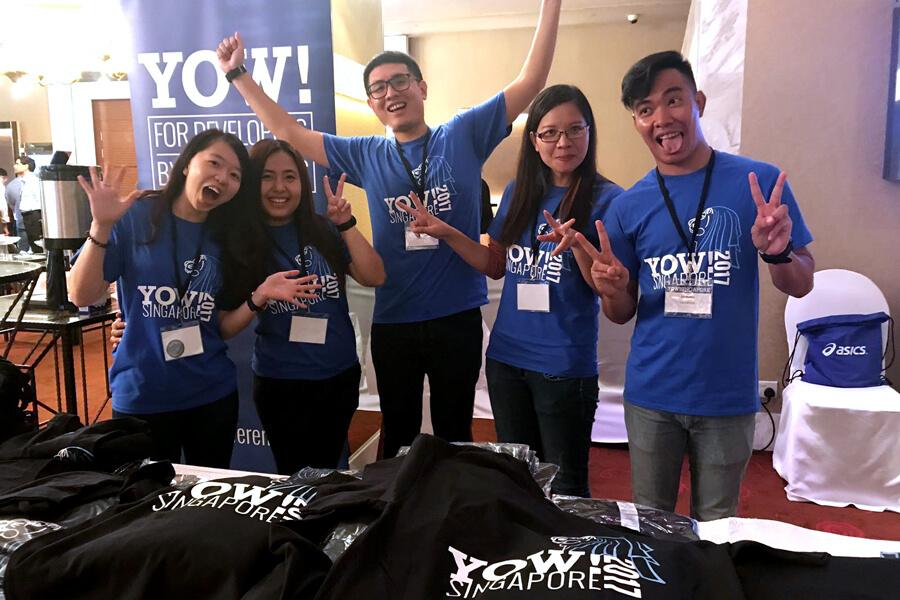 Volunteer Team @ Yow! Conference 2017