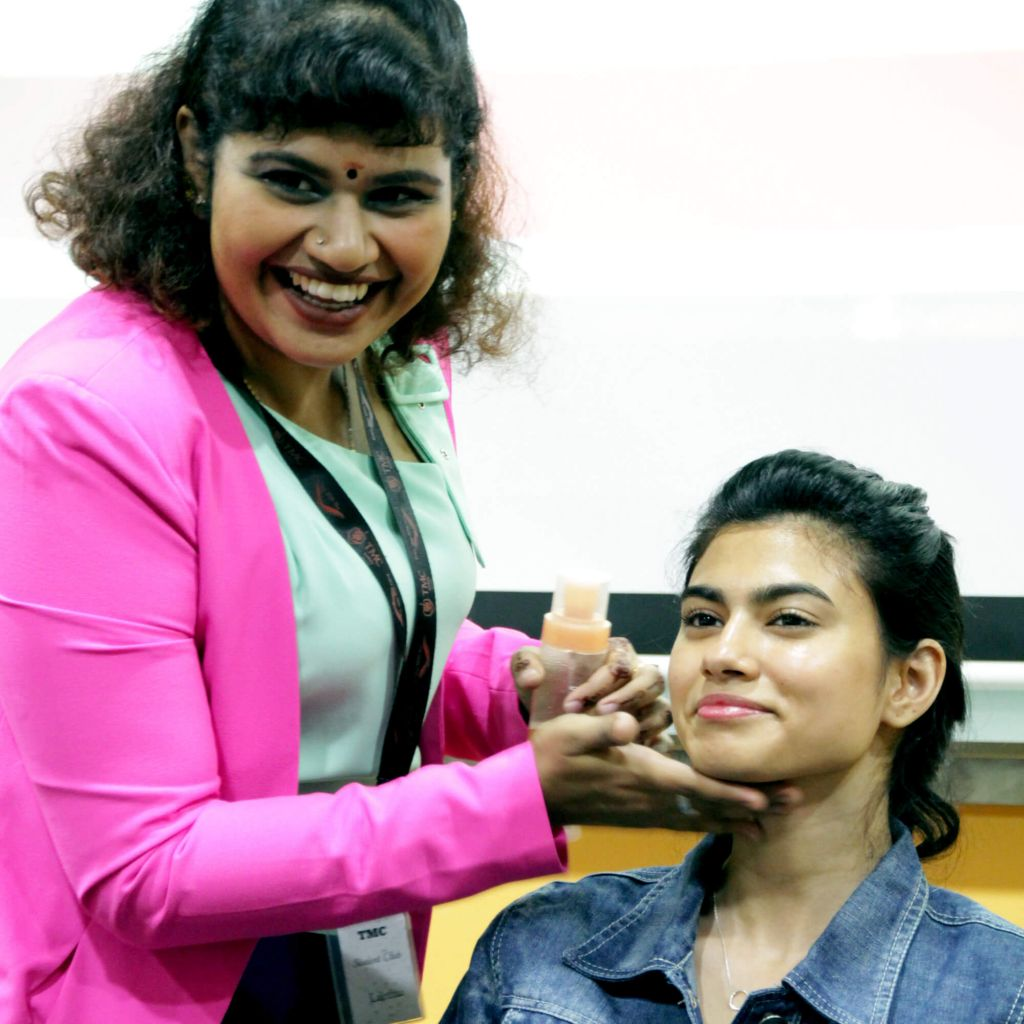 TMC Academy Open House April 2017 personal grooming workshop ace interview with confident