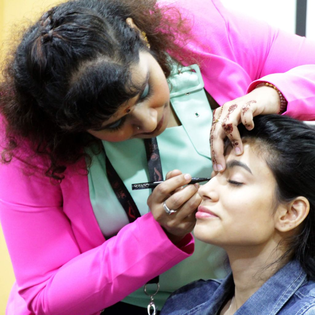 TMC Academy Open House April 2017 personal grooming workshop live demo
