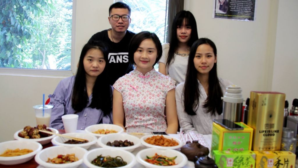 TMC Academy Open House April 2017 team china tasty food from china