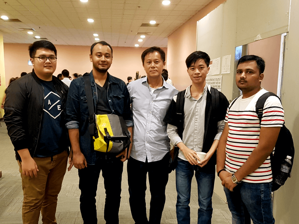 "Ten students from TMC Academy pursuing the Higher Diploma in Infocomm Technology (HDICT) and BSc (Hons) Computing degree programme attended the SCS Project Management Seminar: ""Project the Future, Manage the Present"""