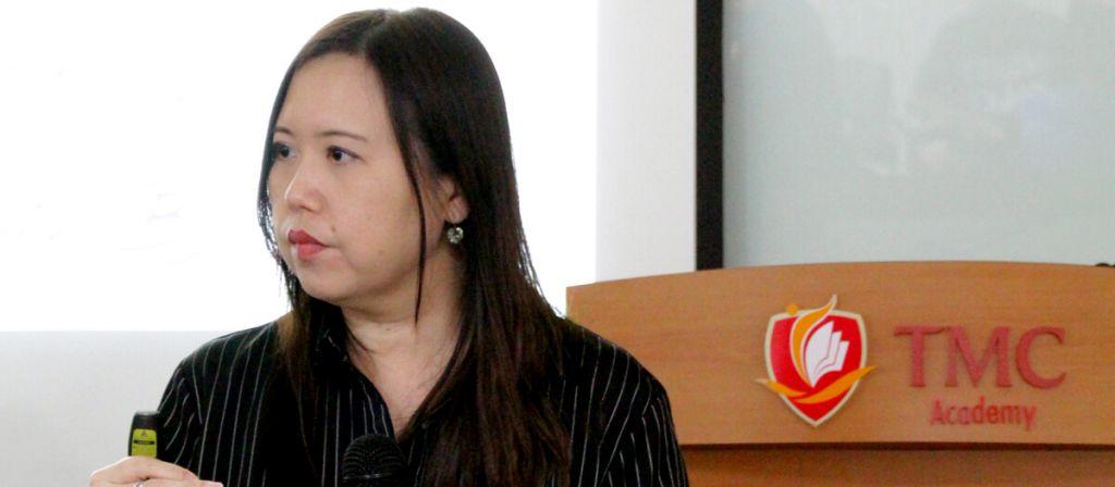 TMC Academy Progression Talk Speaker Pauline