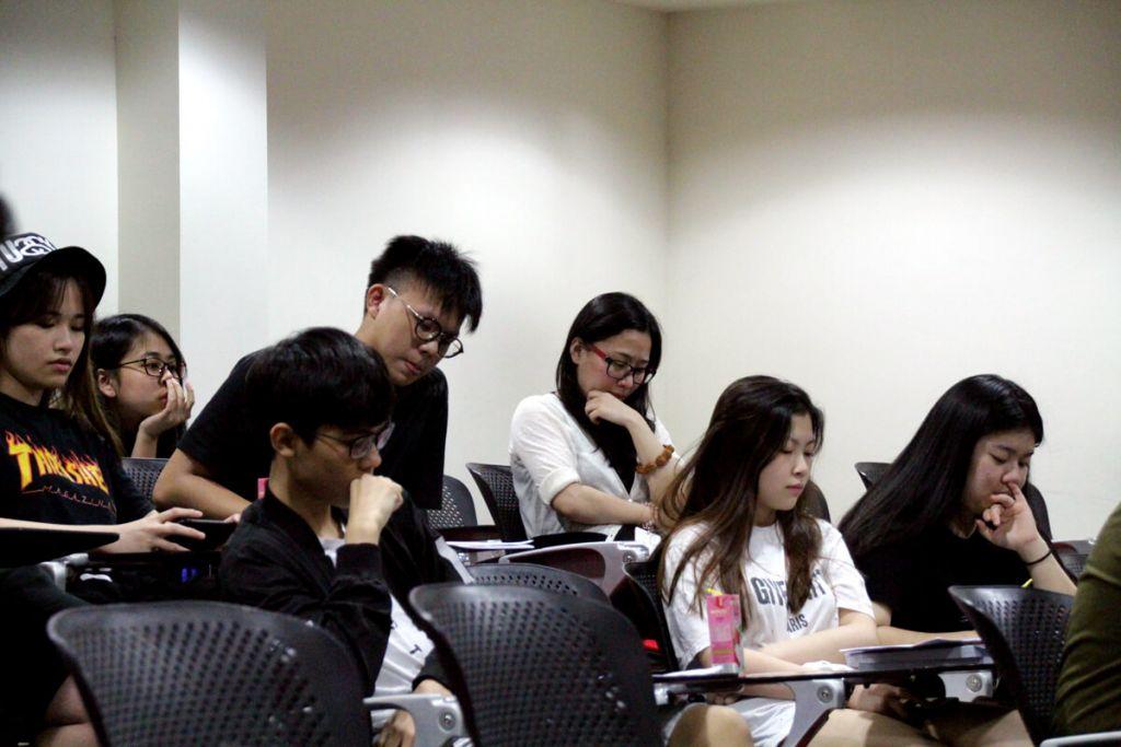 TMC Academy Progression Talk Students 2