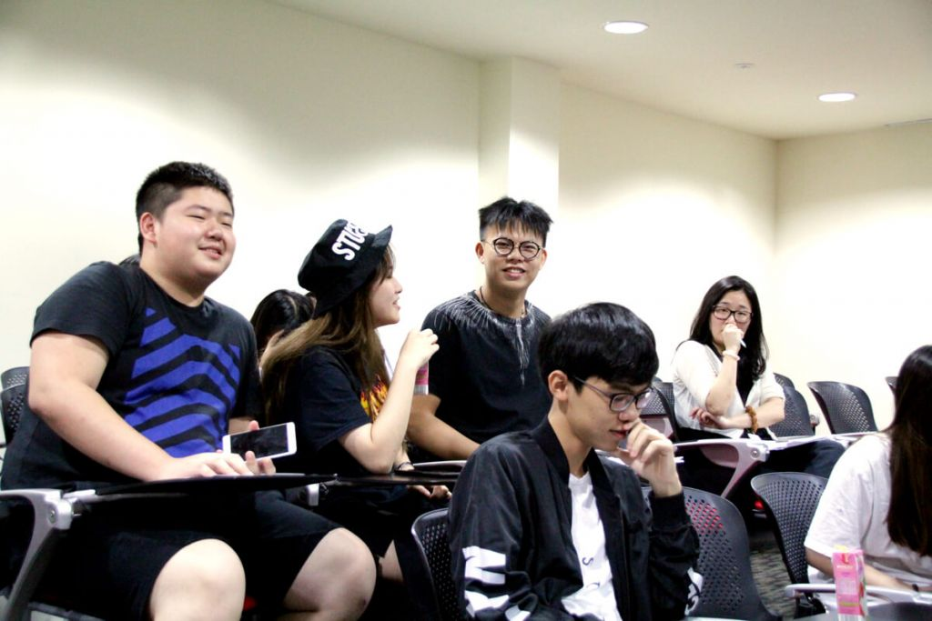 TMC Academy Progression Talk Students