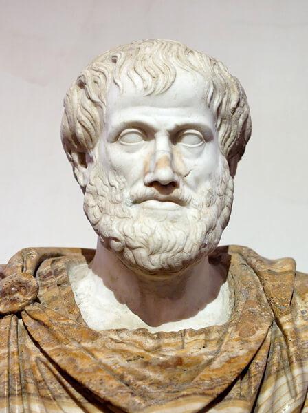 Aristotle Statue Copy
