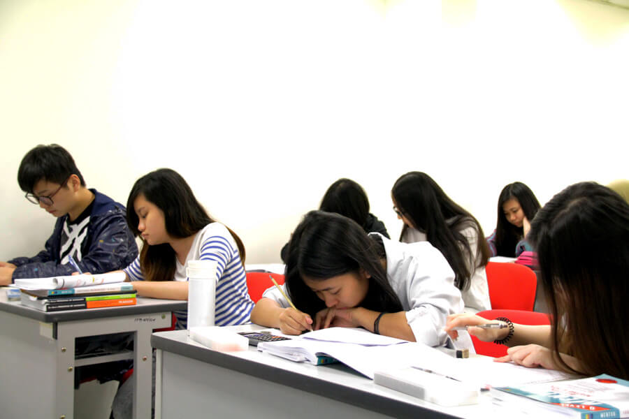Student in classes - TMC Academy Laying Strong Foundation for Studies