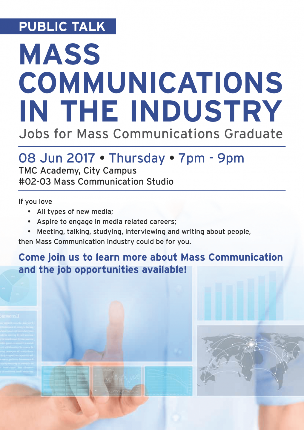 Mass Communications in the Industry Workshop - TMC Academy
