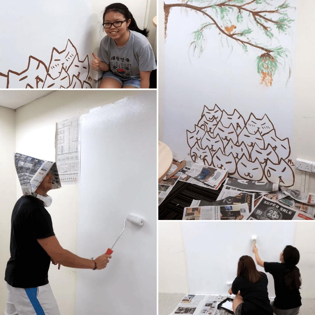 TMC Academy Paint-A-Classroom Weekend Activity