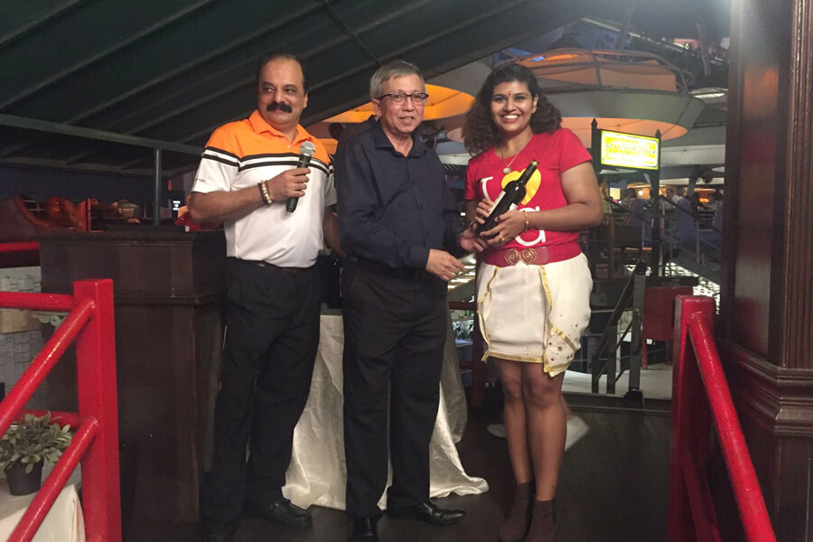 Laleetha Got The Best Dressed Award