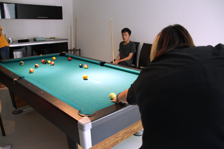 Pool Game | Orientation BBQ
