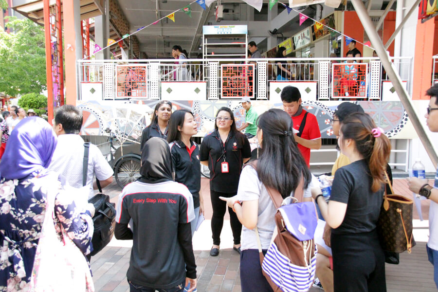 Hawker Centre Briefing | Campus Tour