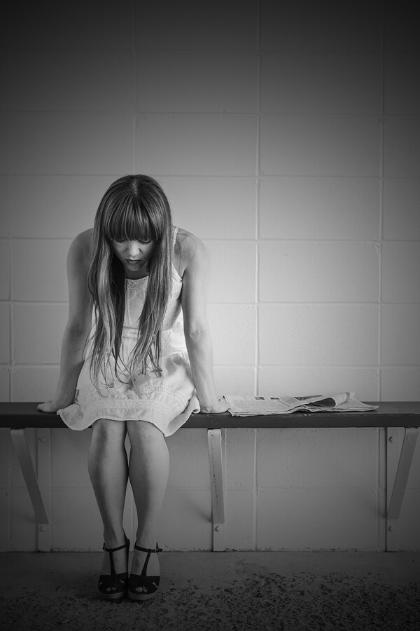 Student Work Image - Depression Girl
