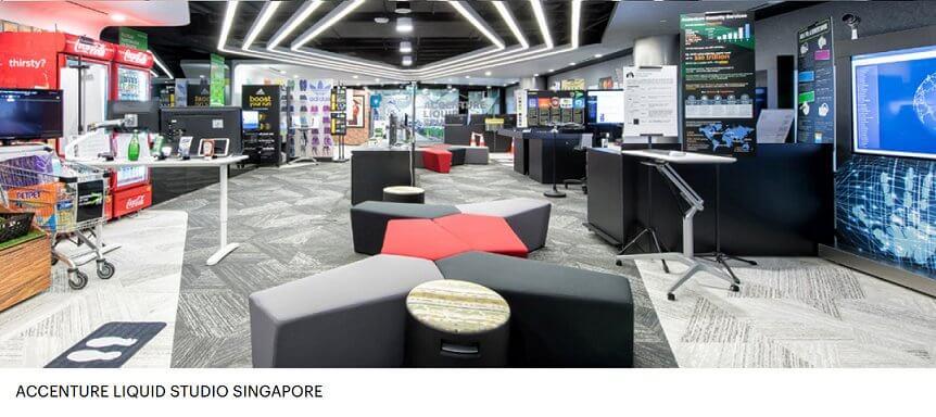 Accenture Liquid Studio Singapore