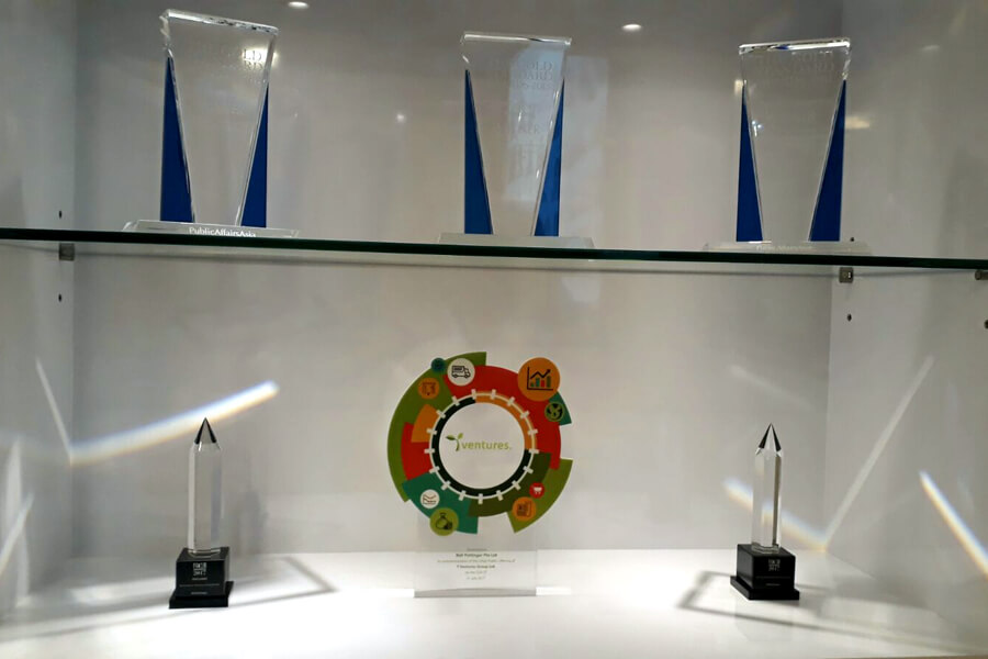 Bell Pottinger's Trophies and Awards