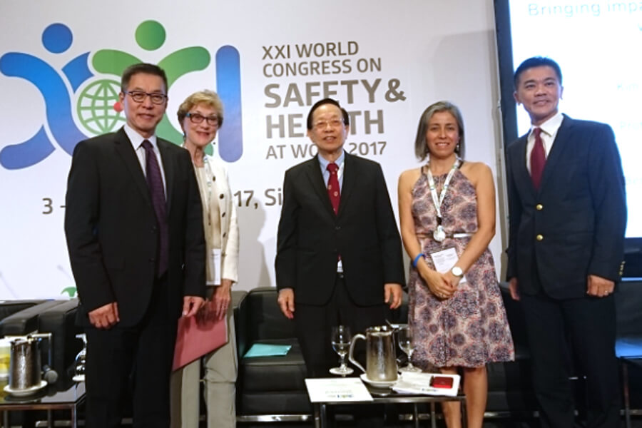 Group Photo @ World Congress on Safety & Health at Work 2017