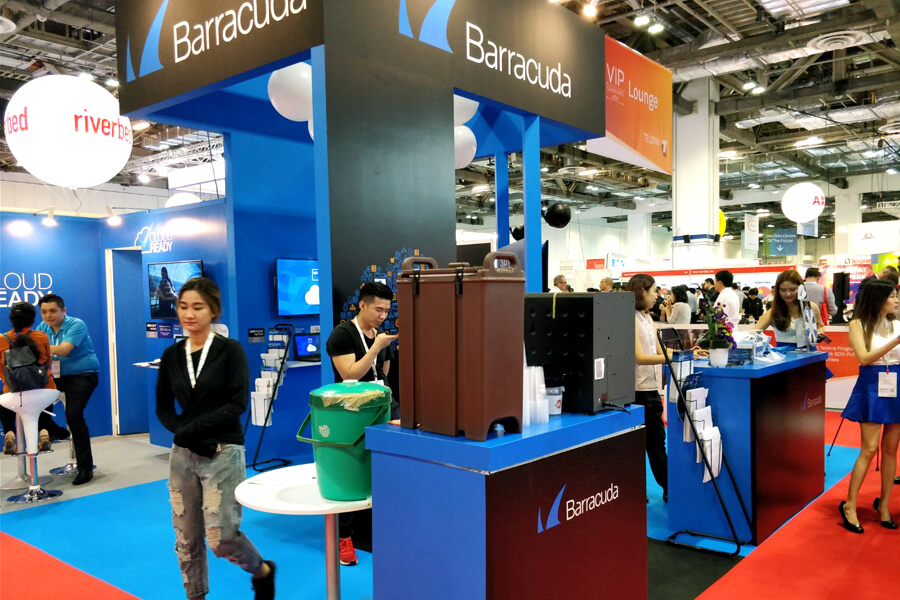 Booths Cloud Expo Asia 2017