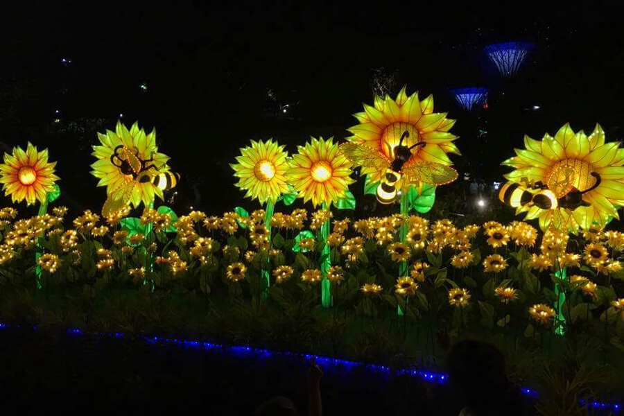 Sunflowers Light - Botanic Mid Autumn Decoration