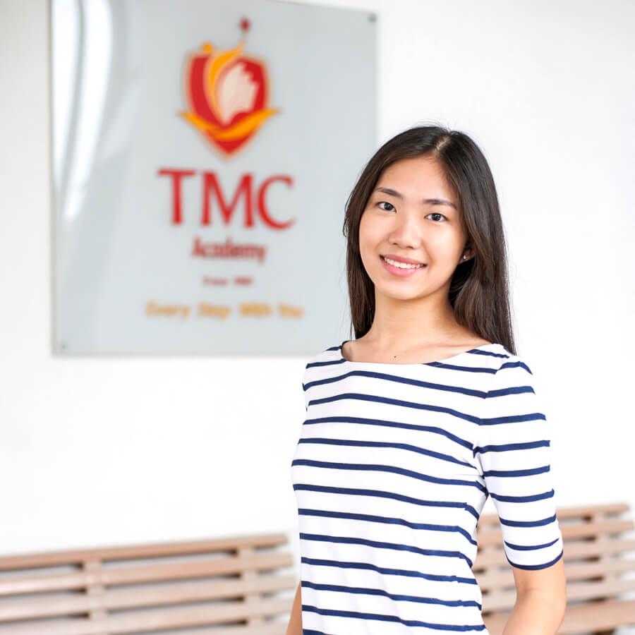 Seraphina Teo in TMC Academy