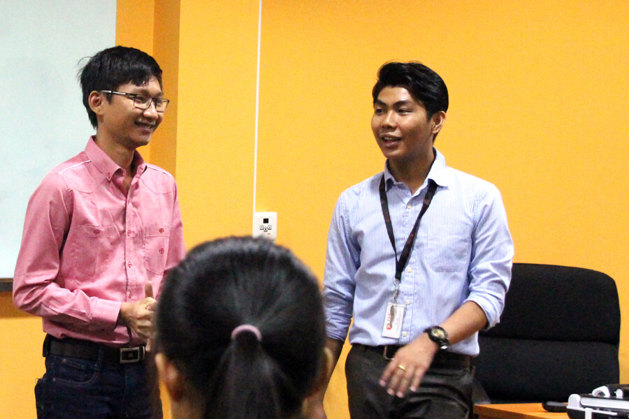 Myanmar Senior Sharing Experience Of Study In Singapore
