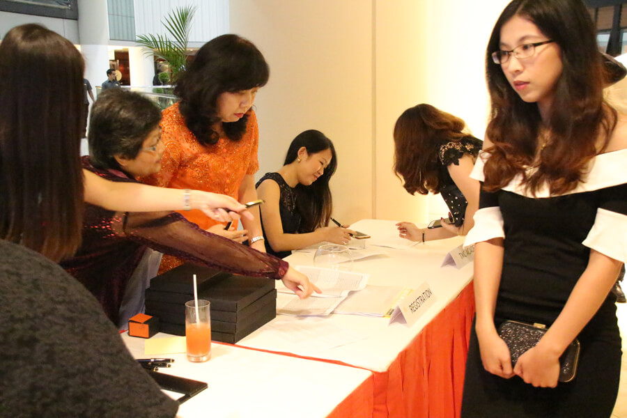 Guest Registration @ TMC Glamour Night