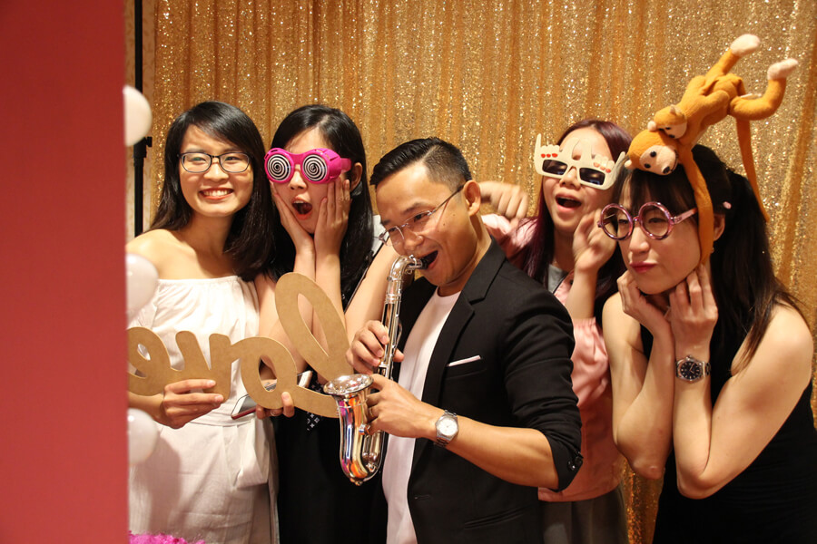 Photobooth @ TMC Glamour Night