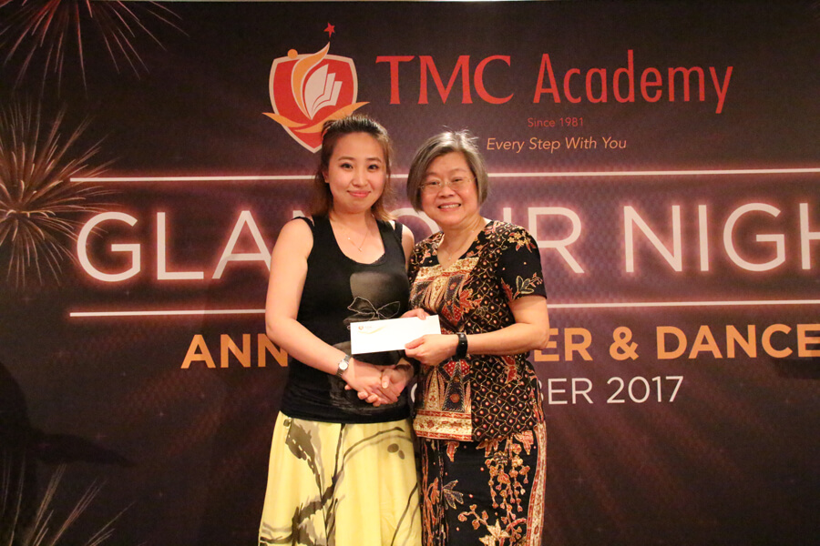 Lucky Draw Third Prize Winner @ TMC Glamour Night