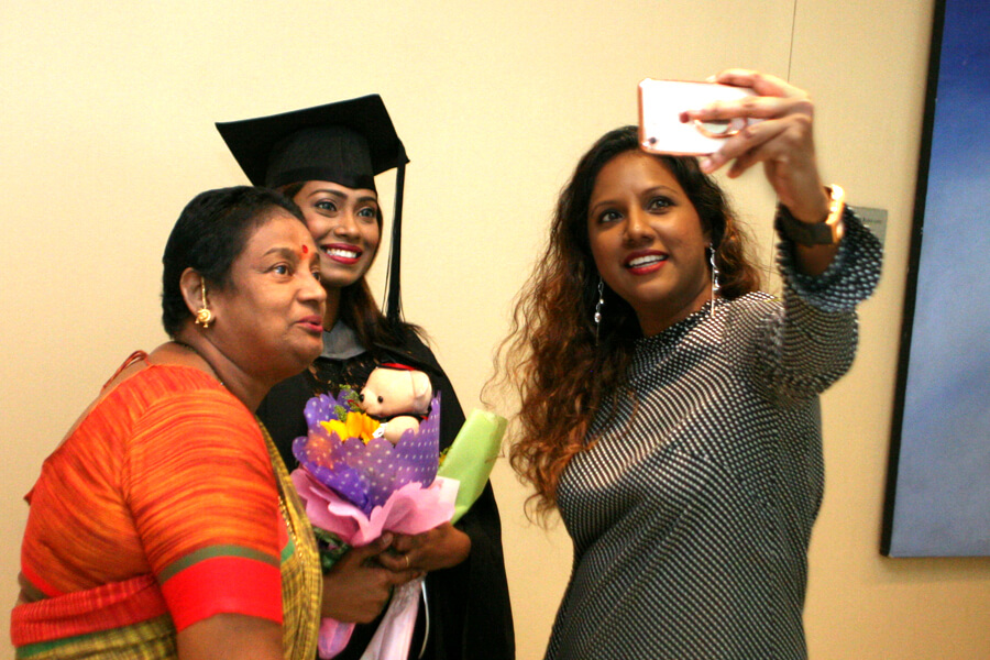 Graduate Family Groupfie @ TMC Graduation Ceremony 2017