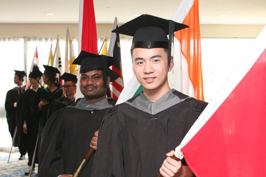 Representative Of Country @ TMC Graduation Ceremony 2017