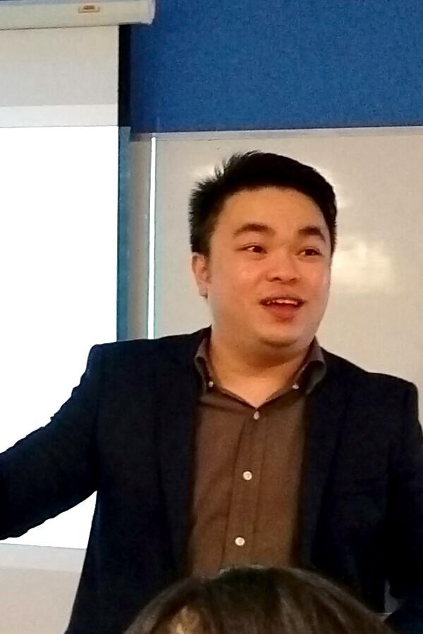 Mr. Ken Tong @ Eye Care Talk TMC Academy